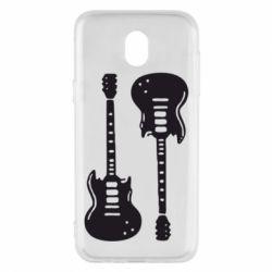 Чохол для Samsung J5 2017 Дві гітари