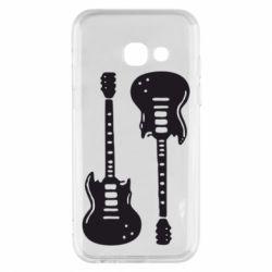 Чохол для Samsung A3 2017 Дві гітари