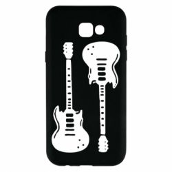 Чохол для Samsung A7 2017 Дві гітари