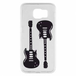 Чохол для Samsung S6 Дві гітари