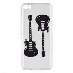Чохол для Xiaomi Mi5/Mi5 Pro Дві гітари