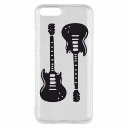 Чохол для Xiaomi Mi6 Дві гітари
