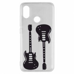 Чохол для Xiaomi Mi8 Дві гітари