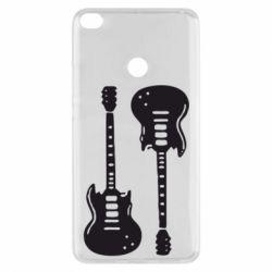 Чехол для Xiaomi Mi Max 2 Две гитары - FatLine