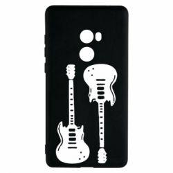 Чехол для Xiaomi Mi Mix 2 Две гитары - FatLine