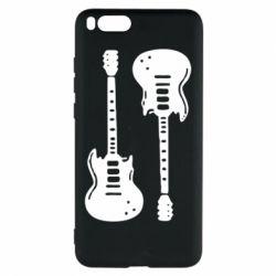 Чехол для Xiaomi Mi Note 3 Две гитары - FatLine