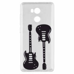 Чехол для Xiaomi Redmi 4 Pro/Prime Две гитары - FatLine