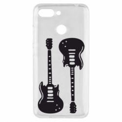 Чехол для Xiaomi Redmi 6 Две гитары - FatLine