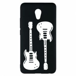 Чехол для Meizu M5 Note Две гитары - FatLine