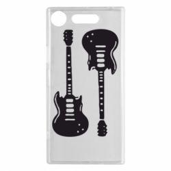 Чехол для Sony Xperia XZ1 Две гитары - FatLine