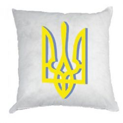 Подушка Двокольоровий герб України