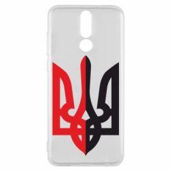 Чехол для Huawei Mate 10 Lite Двокольоровий герб України - FatLine