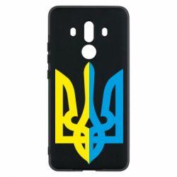 Чехол для Huawei Mate 10 Pro Двокольоровий герб України - FatLine