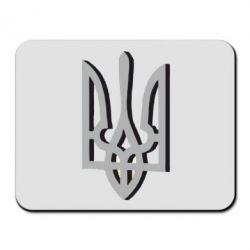Килимок для миші Двокольоровий герб України