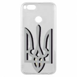 Чохол для Xiaomi Mi A1 Двокольоровий герб України