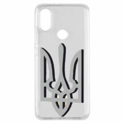 Чохол для Xiaomi Mi A2 Двокольоровий герб України