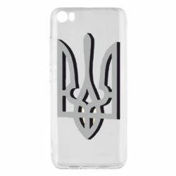 Чохол для Xiaomi Mi5/Mi5 Pro Двокольоровий герб України