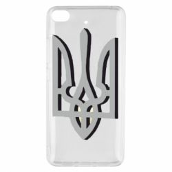Чехол для Xiaomi Mi 5s Двокольоровий герб України