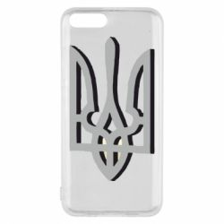 Чехол для Xiaomi Mi6 Двокольоровий герб України