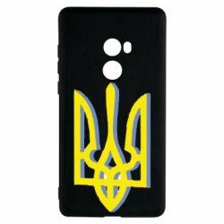 Чехол для Xiaomi Mi Mix 2 Двокольоровий герб України