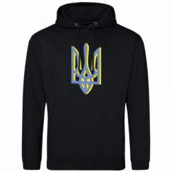 Чоловіча толстовка Двокольоровий герб України