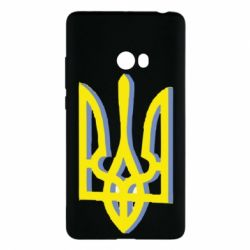 Чохол для Xiaomi Mi Note 2 Двокольоровий герб України