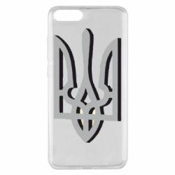 Чохол для Xiaomi Mi Note 3 Двокольоровий герб України