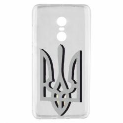 Чехол для Xiaomi Redmi Note 4 Двокольоровий герб України