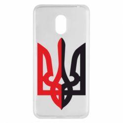 Чехол для Meizu M6 Двокольоровий герб України - FatLine
