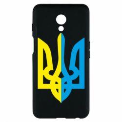 Чехол для Meizu M6s Двокольоровий герб України - FatLine