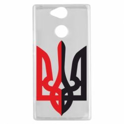 Чехол для Sony Xperia XA2 Двокольоровий герб України - FatLine