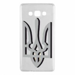 Чехол для Samsung A7 2015 Двокольоровий герб України