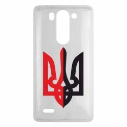 Чехол для LG G3 mini/G3s Двокольоровий герб України - FatLine