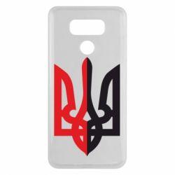 Чехол для LG G6 Двокольоровий герб України - FatLine