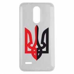 Чехол для LG K7 2017 Двокольоровий герб України - FatLine