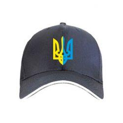 кепка Двокольоровий герб України - FatLine