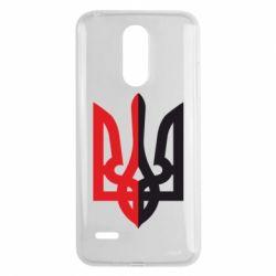 Чехол для LG K8 2017 Двокольоровий герб України - FatLine