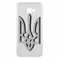 Чохол для Samsung J4 Plus 2018 Двокольоровий герб України