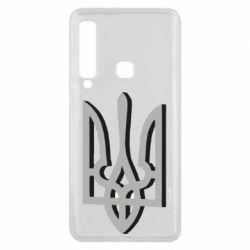 Чехол для Samsung A9 2018 Двокольоровий герб України
