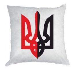 Подушка Двокольоровий герб України - FatLine