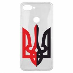 Чохол для Xiaomi Mi8 Lite Двокольоровий герб України