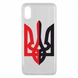 Чохол для Xiaomi Mi8 Pro Двокольоровий герб України