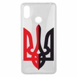 Чохол для Xiaomi Mi Max 3 Двокольоровий герб України
