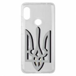 Чехол для Xiaomi Redmi Note 6 Pro Двокольоровий герб України