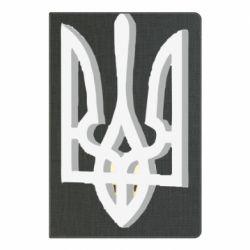 Блокнот А5 Двокольоровий герб України
