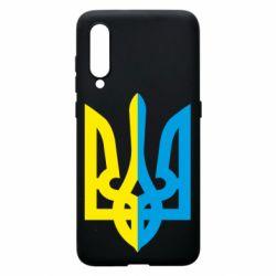 Чохол для Xiaomi Mi9 Двокольоровий герб України