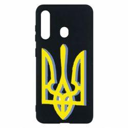 Чохол для Samsung M40 Двокольоровий герб України