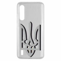 Чохол для Xiaomi Mi9 Lite Двокольоровий герб України