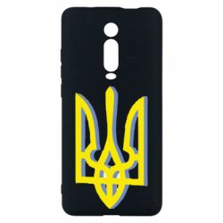 Чехол для Xiaomi Mi9T Двокольоровий герб України
