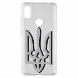 Чехол для Xiaomi Redmi S2 Двокольоровий герб України